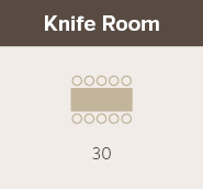 Knife Room at Gambaro Hotel