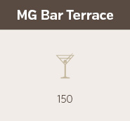 MG Bar Terrace at Gambaro Hotel