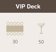 VIP Deck at Gambaro Hotel