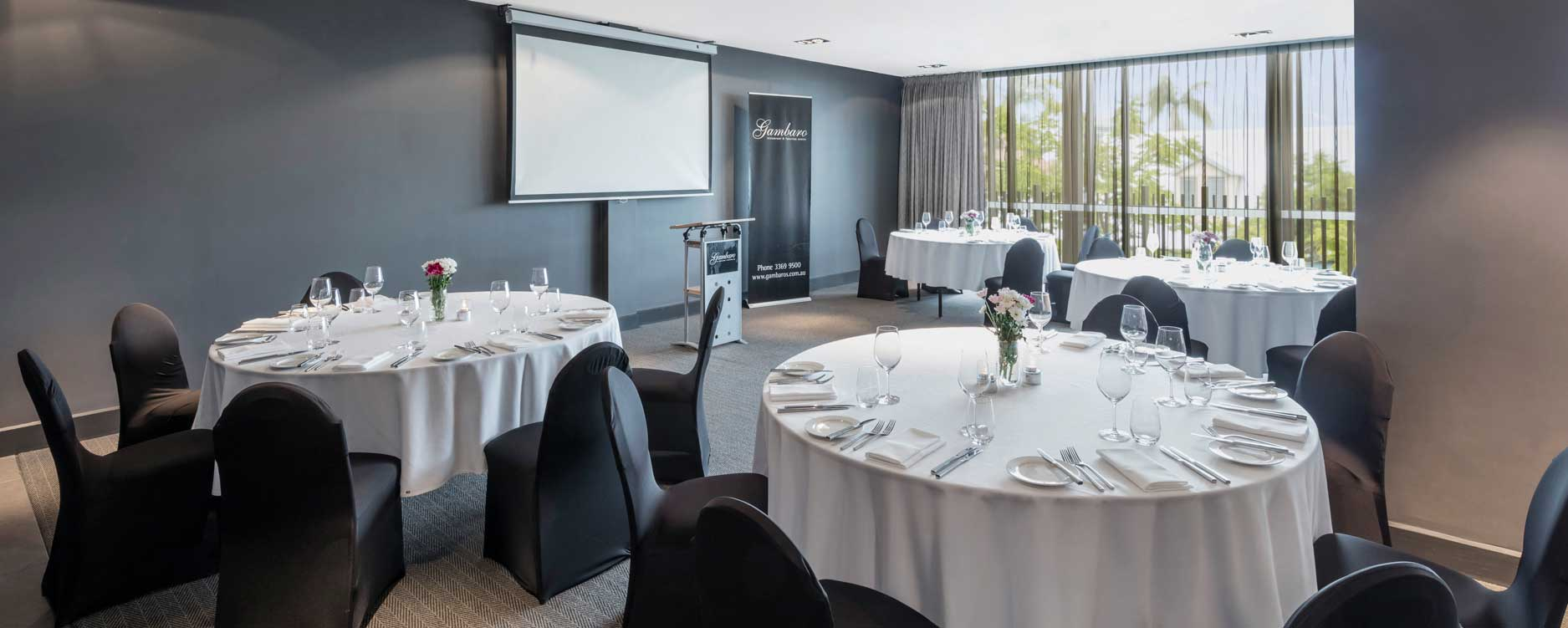 Meetings events gambaro hotel brisbane luxury hotel for Best private dining rooms brisbane