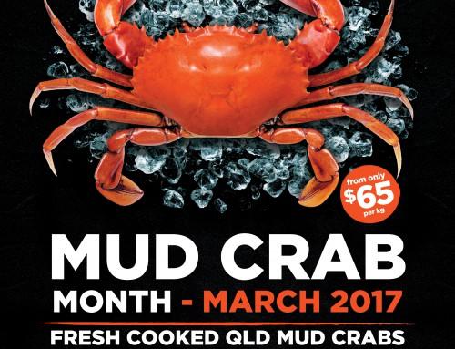 Gambaro Seafood Restaurant Mud Crab Month