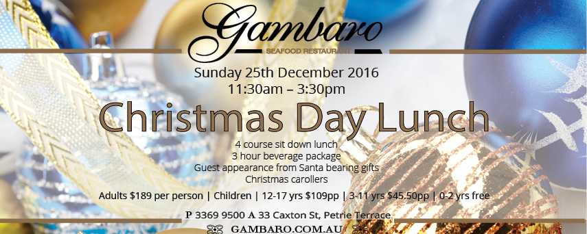 christmas day lunch 2016 - When Is Christmas Day 2016