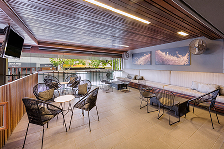 VIP Deck at Gambaro Hotel Brisbane